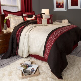 Windsor Home Ashley 10-piece Comforter Set