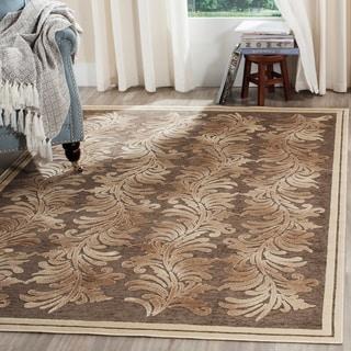 Safavieh Martha Stewart Collection Brown Viscose Rug (7' 10 x 11' 2)