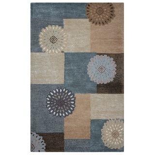 Rizzy Home Multi Eden Harbor Color Blocked Accent Rug (2' x 3')