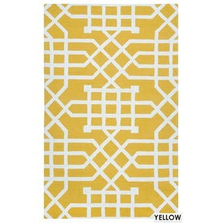 Rizzy Home Grey Azzura HIll Indoor/Outdoor Geometric Area Rug (3'6 x 5'6) https://ak1.ostkcdn.com/images/products/11878054/P18775539.jpg?impolicy=medium