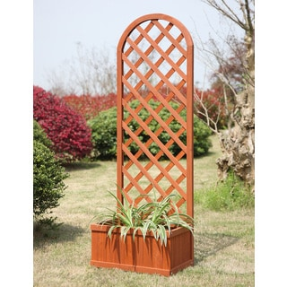 Convenience Concepts Wood Garden Planter Box
