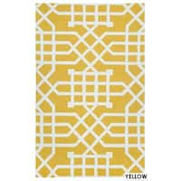 Rizzy Home Grey Azzura HIll Indoor/Outdoor Geometric Area Rug - 9' x 12'