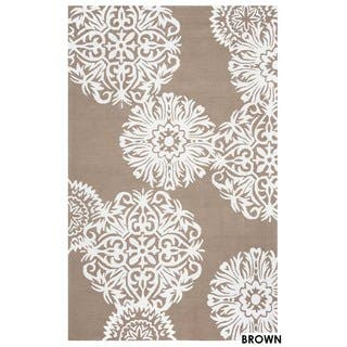 Rizzy Home Grey Azzura HIll Floral Area Rug (9' x 12') https://ak1.ostkcdn.com/images/products/11878122/P18775545.jpg?impolicy=medium