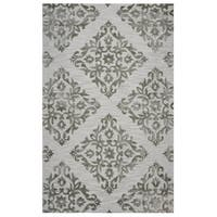 Rizzy Home Grey Eden Harbor Trellis Area Rug - 8' x 10'