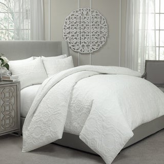 Vue Barcalona Quilted Coverlet and Duvet Cover Ensemble