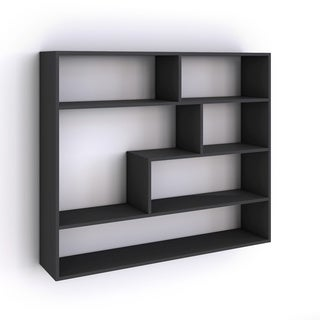 Danya B Large Rectangular Black Shelf Unit