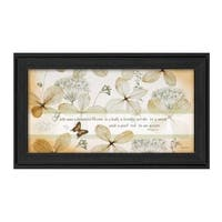 """""""Faith Sees"""" By Robin-Lee Vieira, Printed Wall Art, Ready To Hang Framed Poster, Black Frame"""