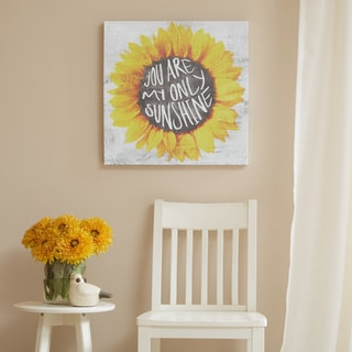 Mi Zone You Are Only My Sunshine Multi Gel Coated Canvas