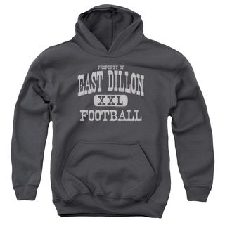 Friday Night Lights/Property Of Youth Pull-Over Hoodie in Charcoal