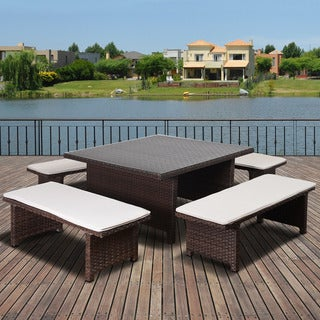 Atlantic Modena 5 piece Dining Set With Cushions