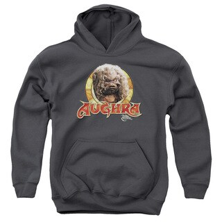 Dark Crystal/Aughra Circle Youth Pull-Over Hoodie in Charcoal