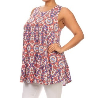 MOA Collection Plus Size Women's Sleeveless Top