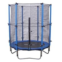 Super Jumper 4.5-foot Trampoline Combo with Safety Net