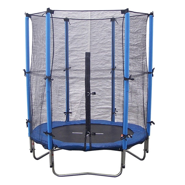 Shop Super Jumper 4.5-foot Trampoline Combo With Safety