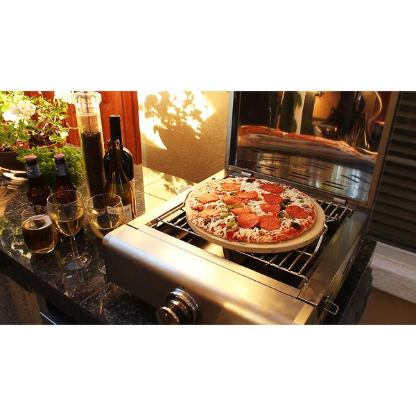 mont alpi portable propane 3 in 1 pizza oven grill free shipping today overstock 18775926. Black Bedroom Furniture Sets. Home Design Ideas