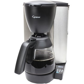 Capresso 48405 MG600 Plus 10-Cup Programmable Coffee Maker with Glass Carafe