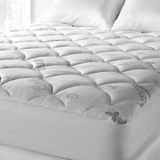 Link to Soft Spa Luxe Cool Touch Deep Pocket Mattress Pad - White Similar Items in Mattress Pads & Toppers