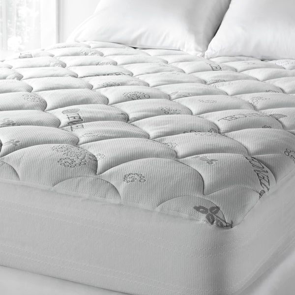 Soft Spa Luxe Cool Touch Deep Pocket Mattress Pad - White. Opens flyout.