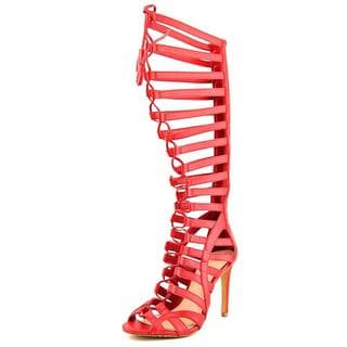 Vince Camuto Women's 'Olivian' Red Leather Sandals