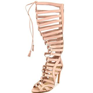 Vince Camuto Women's Olivian Pink Leather Sandals