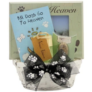 Forever Loved Dog Gift Basket