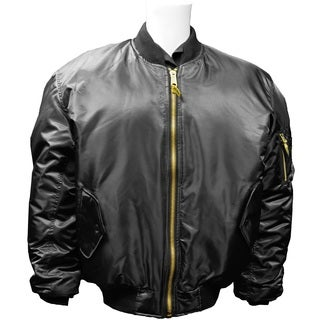 Humvee MA1 Black Flight Jacket
