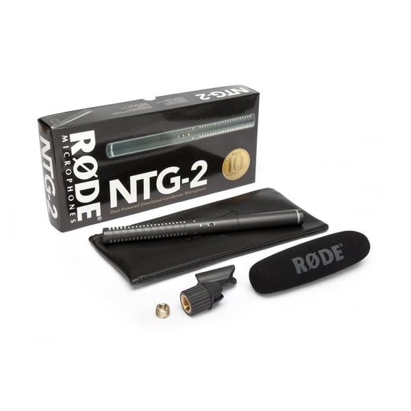 Shop Rode Ntg2 Condenser Shotgun Microphone Free