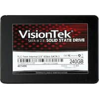 "VisionTek 240GB TLC 7mm SATA III Internal 2.5"" SSD"
