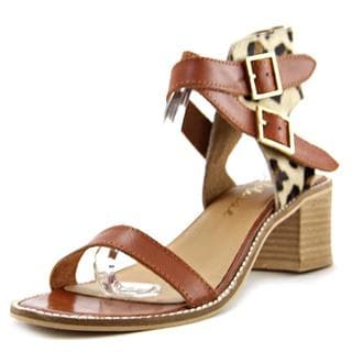Matisse Women's Orin Tan Haircalf Strappy Sandals