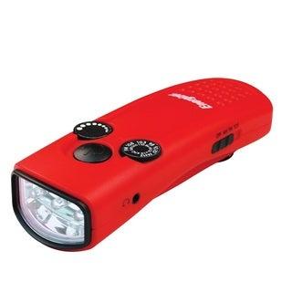 Energizer Weatheready Red Crank LED Radio Light