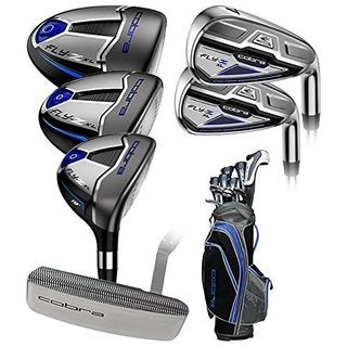 Cobra men 39 s fly z xl lite flex complete set of golf clubs for Naroznik cobra z living roomu