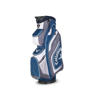 Callaway Chev Org Blue/White Polyester Cart Bag