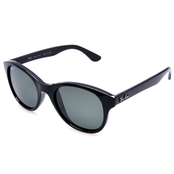 Ray-Ban RB4203 601 58 Black Frame Polarized Green 51mm Lens Sunglasses 581be0ebfcda