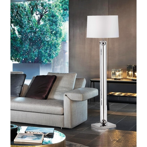 Barbeto Black 1-Light Floor Lamp