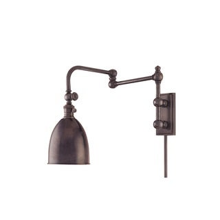 Hudson Valley Roslyn Wall Sconce with Swing Arm and Adjustable Head