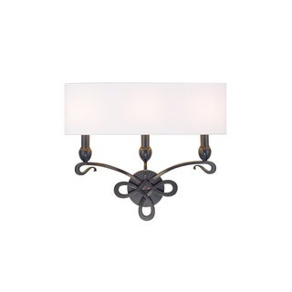Hudson Valley Pawling 3 Light Bronze Wall Sconce