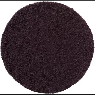 Hand-Woven Kirkham Solid New Zealand Wool Rug (8' Round)