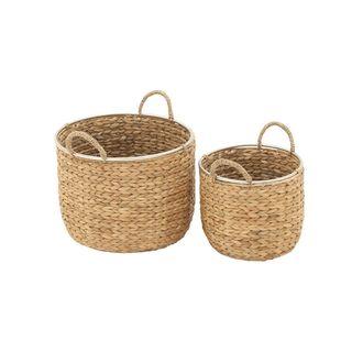 The Gray Barn Jartop Multicolor Sea Grass Baskets (Set of 2)
