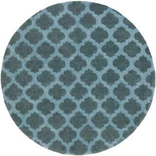 Hand-Tufted Lucent Polyester Rug (8' Round)