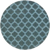 Hand-Tufted Lucent Area Rug (8' Round)