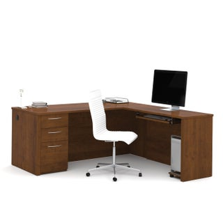 Bestar Embassy 71 inch L-shaped desk (2 options available)