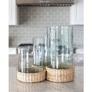 Large Hurricane Jars (Set of 3)