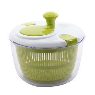 Oster Kitchen Artistry Green Plastic 10-inch Dishwasher-safe Salad Spinner