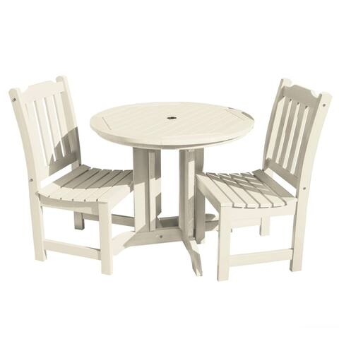 Highwood Eco-friendly Lehigh 3-piece Round Dining Set