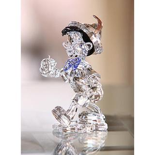 Crystal Pinocchio Figurine