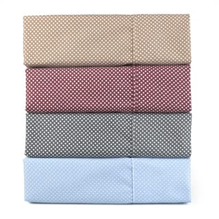 Journee Home 'Mod' Microfiber Wrinkle Free Printed 4 piece Sheet Set