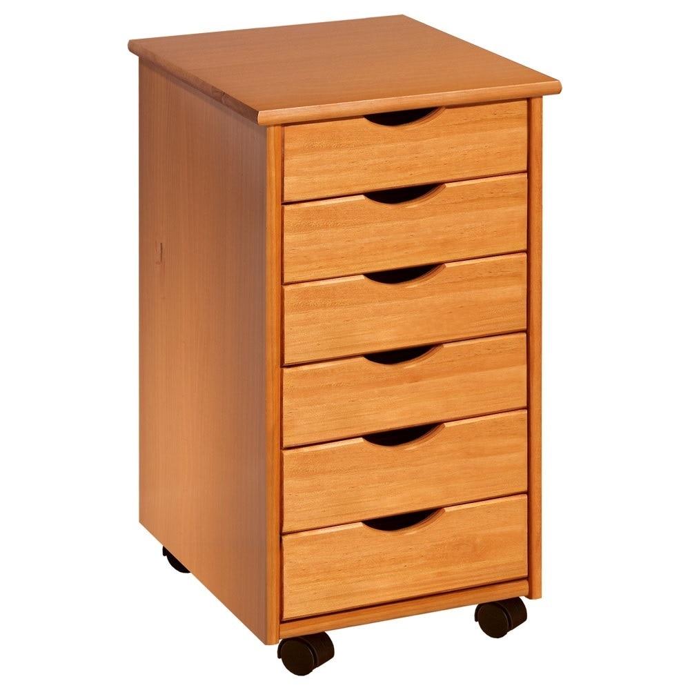 Adeptus 6-drawer Rolling Craft and Hobby Sewing Storage C...