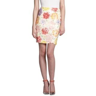 Elie Tahari Women's Vera Floral Sequin Skirt