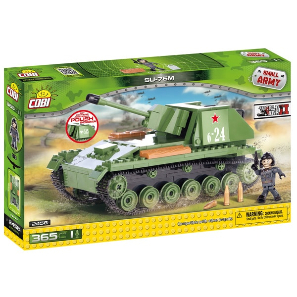 Cobi Small Army SU 76M Building Kit