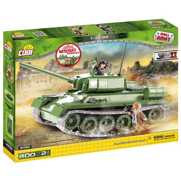 COBI Small Army T-34/85 Multicolor Plastic Tank Building Kit